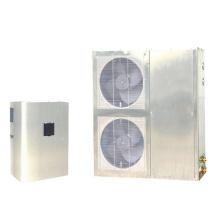 DC-Inverter-Wärmepumpe mit externem Wärmetauscher
