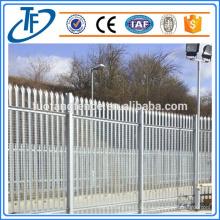 Elektrischer verzinkter Stahl Palisade Zaun Made in Anping (China Produkte)