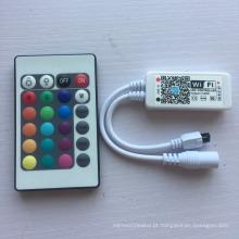 Amostra grátis DC5-28V 24 Chaves IR Controlador Remoto WiFi RGBW com boa qualidade