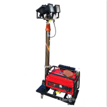Trolley Mobile Light Tower con generatore diesel