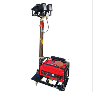 Trolley Mobile Light Tower med dieselgenerator