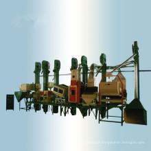 Máquina de trituração do arroz parboilizado