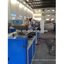 Chaîne de production de tuyau d'extension flexible en plastique