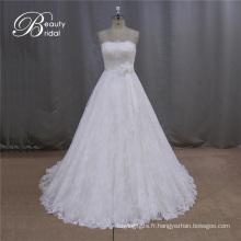 Sweetheart Lace Top vente robe de mariée