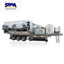 Reasonable Price track mobile jaw crusher plant china