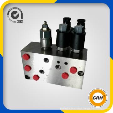 Bloco de Válvula Hidráulica para Equipamento de Sistema Hidráulico