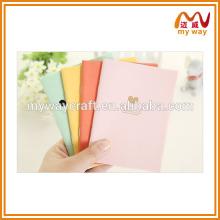 Candy série de cores caderno, caderno de impressão a cores