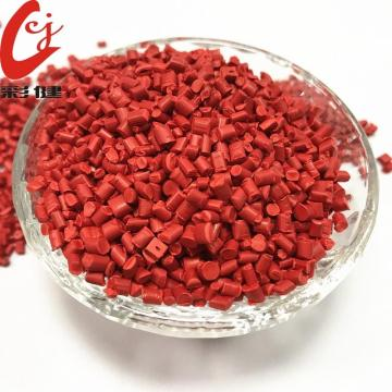 Red Food Grade kleur masterbatch-korrels