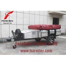 Hot selling New Australian Design Soft floor camper trailer SF74T