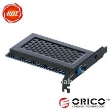 5Bay PCI-E Interno HDD Raid Express Card, tarjeta PCI-E Express, tarjeta de raid,