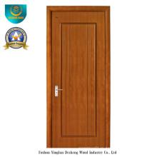 Современный дизайн двери ХДФ для комнаты с коричневым цветом (ДС-081)