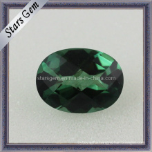 Factory Price Clear Emerald Oval Shape Cubic Zirconia for Jewelry
