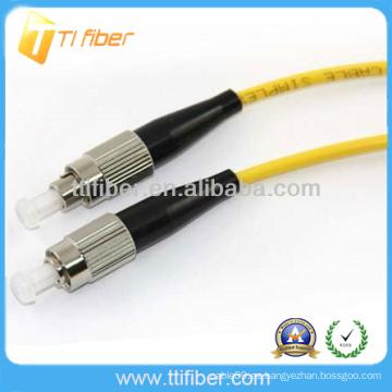 FC-FC singlemode simplex Cable de conexión de fibra óptica
