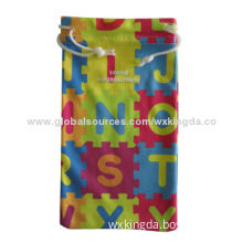 Sunglasses Pouches, Customized Designs, Colors and Sizes are Accepted, Made of Microfiber