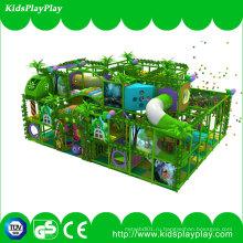Вэньчжоу Дети Пластиковые игры Джунгли Тема Крытая детская площадка
