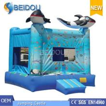 Popular Mini Bounce Castelo Inflável Bouncy Bouncy Jumping Castelo