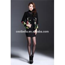 Damen Großhandel Graben Western Stil Frauen kurz gedruckt und gestickte Mantel Jacke