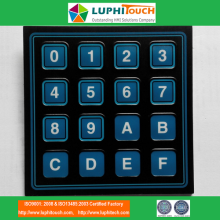 Fast Delivery for PCB Circuit Membrane Switches Rim Embossing Tactile PCB Circuit Membrane Keyboard supply to Italy Suppliers