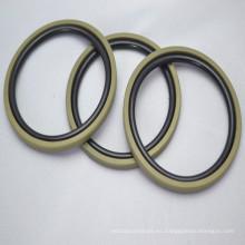 Sellos de pistón de PTFE para cilindros de alta resistencia