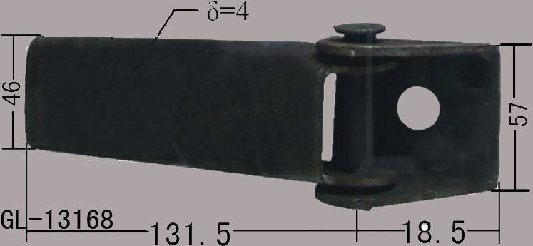 Tractor Door Hinge Bolts