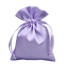 low MOQ satin pouch for hair bundles