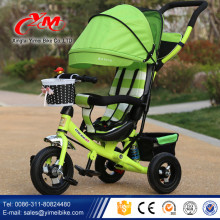 Cool baby tricycles for toddlers baby push tricycle/360degree rotating small trikes for toddlers/1 year old trike alibaba sale