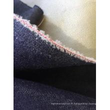 Tissu enduit simple de denim pour le costume de jeans de veste