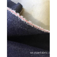 Denim Plain Coating Fabric För Jacket Jeans Suiting