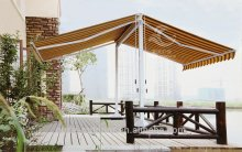 2016 Best selling manufacturer acrylic awning retractable fabric