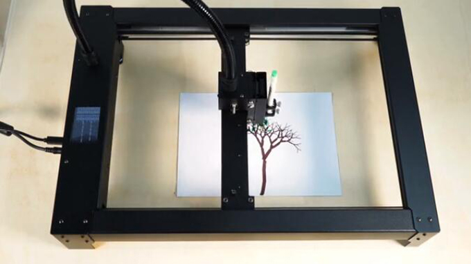 desk plotter machine