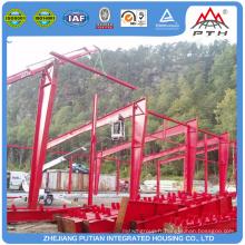 Construction de maisons préfabriquées en acier inoxydable de haute qualité à deux étages à vendre