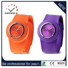 Moda impermeável bracelete de silicone pulseira quartzo relógio de pulso (dc-534)