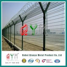 Painel de cerca de segurança de fronteira / painel de cerca de aeroporto