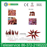 red chilli stem cutting and removing machine