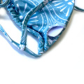 Women Blue Sexy Two Piece Swimsuit