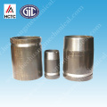 SCH 40 THREADED+GROOVED STEEL PIPE NIPPLES