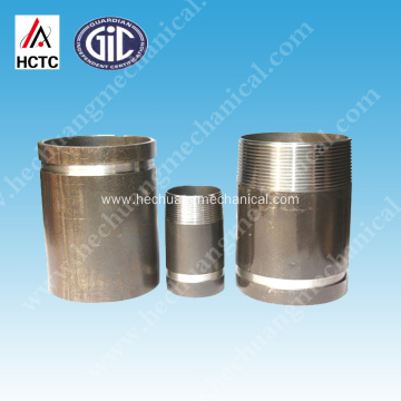 THREADED+GROOVED STEEL PIPE NIPPLES