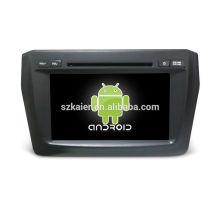 Quatro núcleos! Android 6.0 carro dvd para Suzuki Swift 2017 com 8 polegada de Tela Capacitiva / GPS / Link Espelho / DVR / TPMS / OBD2 / WIFI / 4G