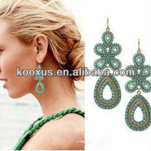 Neueste antike viktorianische böhmische Ohrringe