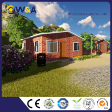 (WAS1015-45D)Big Family Living Villas Prefab Villa