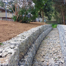 River Bank Protect Galfan Gabion Reno Matratze