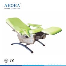 AG-XS104 Multifunktions Blutentnahme Phlebotomie Ausrüstung Krankenhaus verstellbarer manueller Stuhl