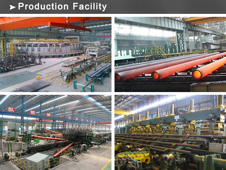 seamless steel pipe production facility
