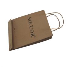 Цветная печать Высококачественная бумажная сумка для покупок