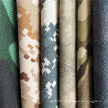 Tissu de camouflage militaire TC Ripstop Blend