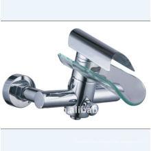 Cascada grifo de baño de cristal (yn5555-baño)