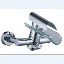 Robinet de bain en verre à cascade (YN5555-Bath)