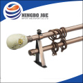 Elegant Design Curtain Rods With Plastic Curtain Rings