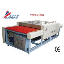 trabajo de alta eficiencia vidrio plano lavadora YZZT-X1200