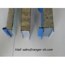 Máquina de construcción o sándwich panel rodillo que forma la máquina